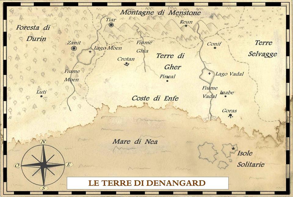 Mappa Denangard