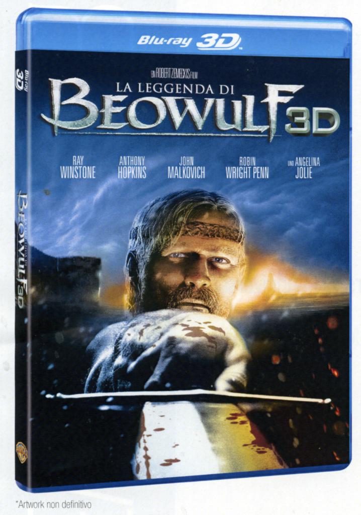 La Leggenda di Beowulf Blu-ray 3D