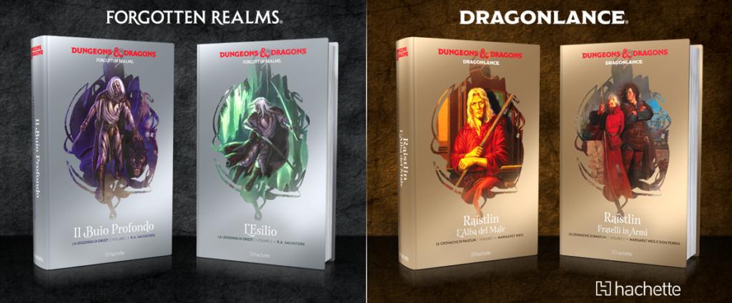 Hachette Dragonlance Forgotten Realms